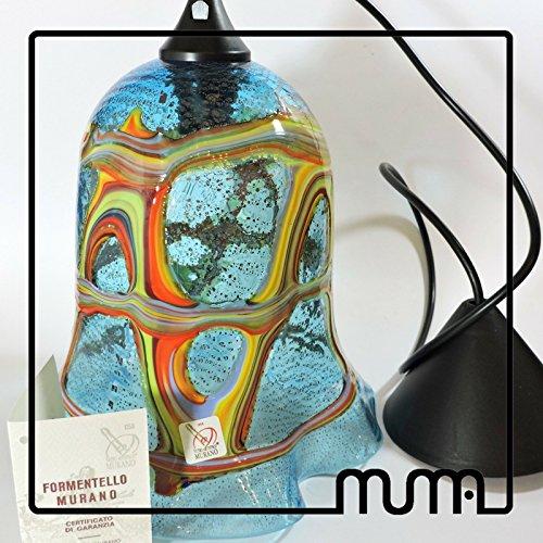 Suspension en verre Murano. formentello. Occasion Shock