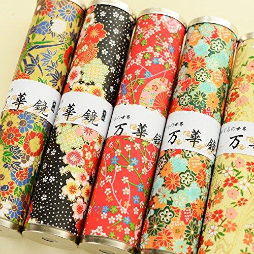 EEvER Ever Plüsch-Spielzeug, Romantisches Kirschblüten-Kaleidoskop, japanischer Stil, Kaleidoskop, Lernspielzeug (zufällige Farbe) (Plüsch-spielzeug Japanische)