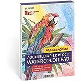 Aquarellpapier 300g, Din A4, Weiß, 20 Blatt   Aquarellblock von Tritart
