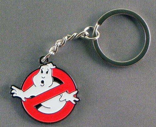 Portachiavi in metallo con logo Ghostbusters (Ghost Buster) Insignia simbolo