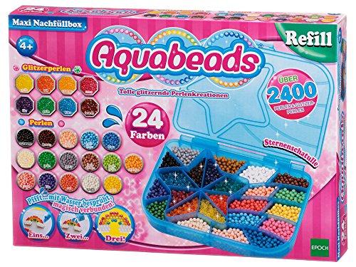 Produktbild Epoch Traumwiesen 79958 - Aquabeas Maxi Nachfüllbox,  Konstruktionsspielzeug,  2400 Stück