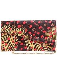 Fiona Trends Multi Color Rexine Sling Bag
