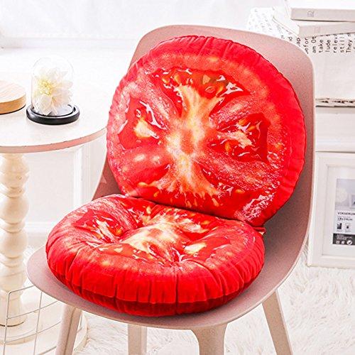 Tiefen Sitz Stuhl Kissen (XMZDDZ Verdicken sie Seat dämpfung,Boden Büro Stuhl-pad Restaurant Stuhl Garten Indoor Outdoor-tiefen Sitz Stuhl Kissen Set-J 40x45cm(16x18inch))