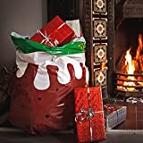 Suck UK Christmas Pud Happy Sack Bin Bags