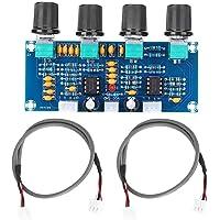 Amplificatore Audio, Scheda Amplificatore Di Potenza Digitale, Parti Preamplificatore, DC 12-24V, Con Regolazione Dei…