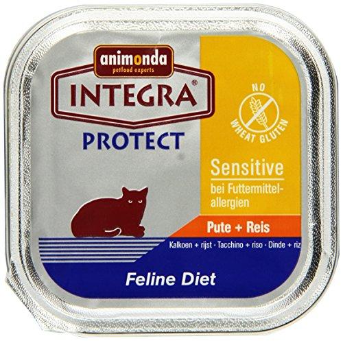 Animonda Integra Protect Sensitive Pute und Reis 16 x 100 g, 1er Pack (1 x 1.6 kg)
