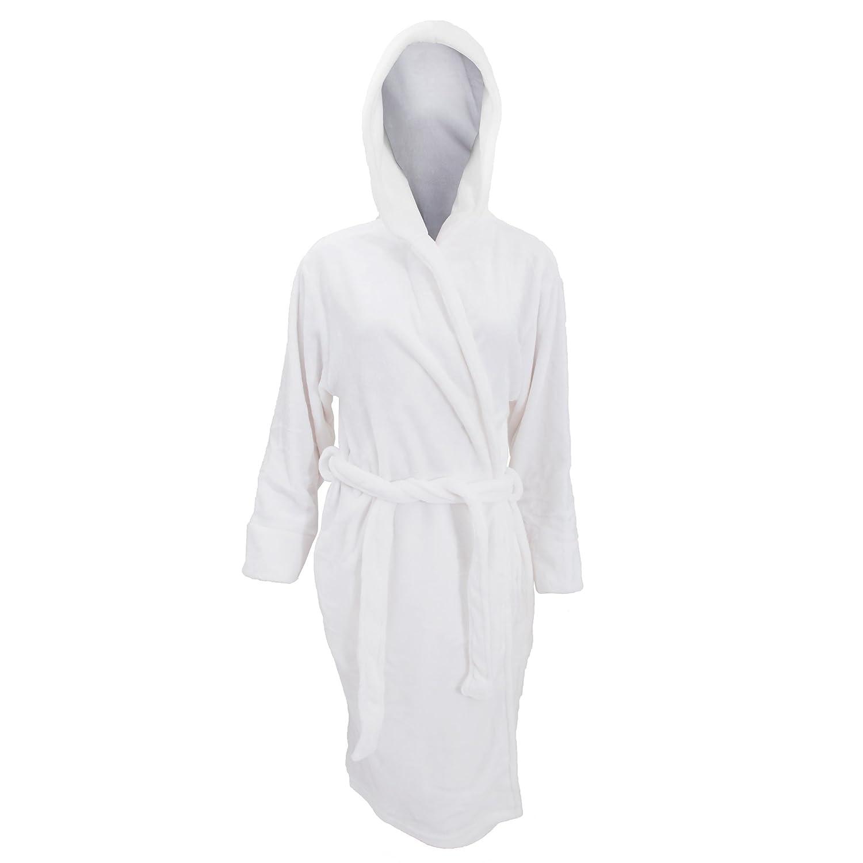 Robe de chambre en polaire douce Femme Amazon Vªtements et