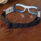 DDG EDMMS Sportbrille, für Babys, Basketball, Fußball, Sportbrille, Polycarbonat, Blau Test