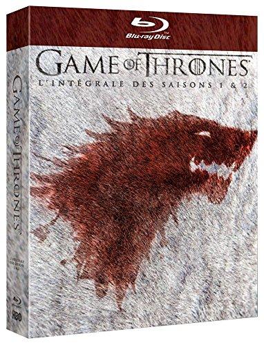 Game of Thrones (Le Trône de Fer) - L'intégrale des saisons 1 & 2 - Blu-ray - HBO