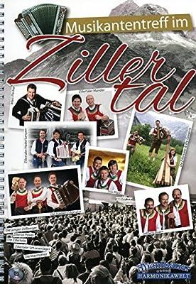 Musikantentreff im Zillertal - arrangiert für Steirische Handharmonika - Diat. Handharmonika - mit CD [Noten / Sheetmusic]