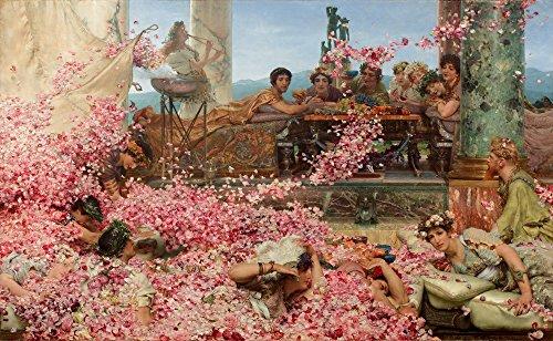 Berkin Arts Lawrence Alma Tadema Giclée Tela Stampa La Pittura Poster Riproduzione (Rose)