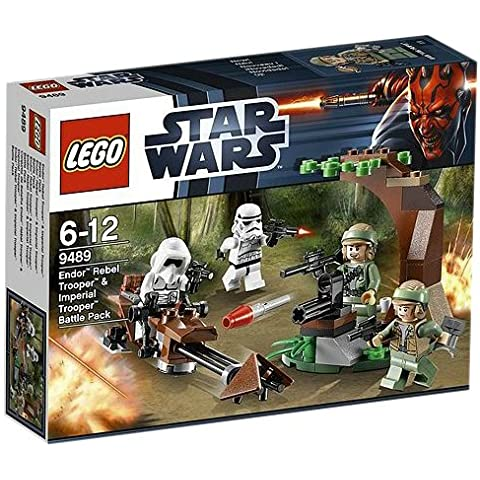 LEGO Star Wars - Endor Rebel Trooper & Imperial Trooper Battle Pack (9489)