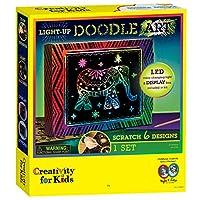 Creativity for Kids F906103 West Design Junior Selection Light-Up Doodle Art Large Kit, Multi-Color