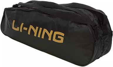 Li-Ning Signature Badminton Kitbag with Double Compartment - Black