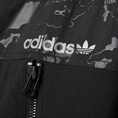 Adidas - Adidas Giacca Sportiva Uomo Nera Nero