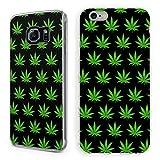 Handyhülle Cannabis für Apple iPhone Hardcase Marihuana Weed Grass Hanf Canabis, Handymodell:Apple iPhone 7 Plus, Hüllendesign:Design 5 | Hardcase Klar