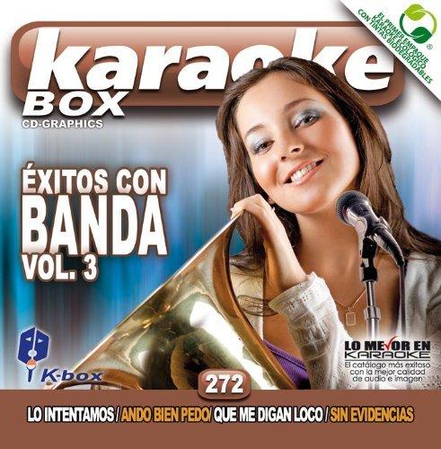 KBO-272 xitos Con Banda Vol. 3(Karaoke) by Banda El Recodo, Banda Los Recoditos, Banda Peque??os Musical,Sergio Vega, La Original Banda Lim??n, Banda Ms, Banda Peque??os Musical, Adan Romero Espinoza Paz (2012-02-28)