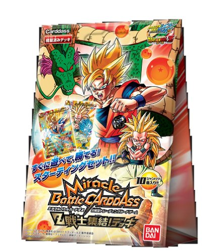 "Miracle Battle Carddas Dragon Ball Kai ""Z Warriors gather!"" Importación Japonesa"