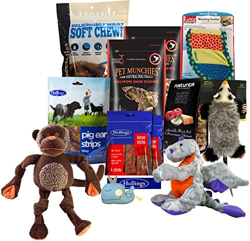 Christmas Dog Hamper Toys And Treats, RRP �76.82