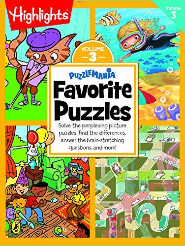 Puzzlemania Favorite Puzzles - Vol 3