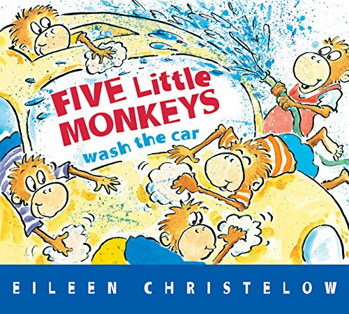 Five Little Monkeys Wash the Car por Eileen Christelow