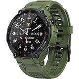 ANSUNG Relojes Inteligente Hombre,Smartwatch con Llamadas Pulsómetro,Presión Arterial, Monito de Sueño,Podómetro Pulsera Relo
