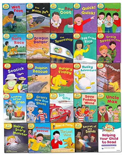 Price comparison product image Oxford Reading Tree Read With Biff Chip Kipper Collection 25 Books Set Level 4-6