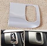 Interno cromato in acciaio inox chiavi auto foro quadro pezzi per Audi A4/A5 2009-2015.