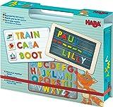 HABA 302590 - Magnetspiel-Box ABC-Entdecker | Fröhlich-buntes Buchstaben-Legespiel ab 4 Jahren | Zum spielerischen Kennenlernen des Alphabets und Schreiben erster Wörter