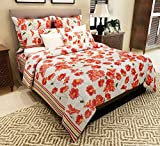 Home Candy 144 TC Floral Cotton Double B...
