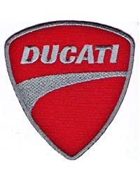 Ducati Badge Logo Sign Symbol Embroidered Iron on Patch MG01