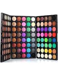 Pallette Fards à Paupière Palette Maquillage, Yannerr ® 120 Couleurs Cosmétiques Poudre à Paupières Palette Maquillage...