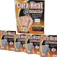 Cura Wärme zurück und Schultern Schmerzen 2er Pack direkt an Haut (2Patches von 16Stunde Akute Schmerzen Relief... preisvergleich bei billige-tabletten.eu