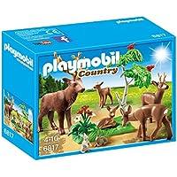 Playmobil Vida en el Bosque - Familia de ciervos (6817)
