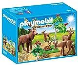 Playmobil Vida en el Bosque - Country Familia de Ciervos Playsets de Figuras de jugete, Color Multicolor (Playmobil 6817)