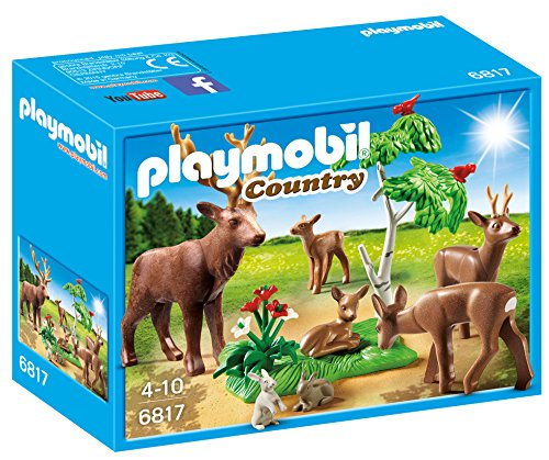 Playmobil Vida Bosque - Country Familia Ciervos Playsets