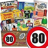 DDR Box | Spezialtiäten Geschenkset | 80 Geburtstag | Geschenk Korb Mama