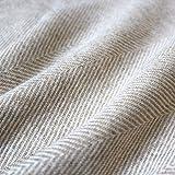LORENZO CANA Kaschmir-Decke Wohndecke Decke 100% reines Kaschmir handgewebt Sofadecke Kaschmirdecke Wolldecke Creme Beige Hellbraun 96178