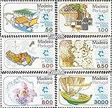 Prophila sellos para coleccionistas: Madeira (Portugal) 64-69 (completa.edición.) nuevo con goma original 1980 internado. Conferencia de Turismo