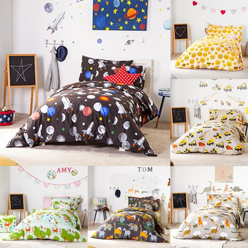 Ready Steady Bed® Africa Design Children's Single Size Duvet Cover Set