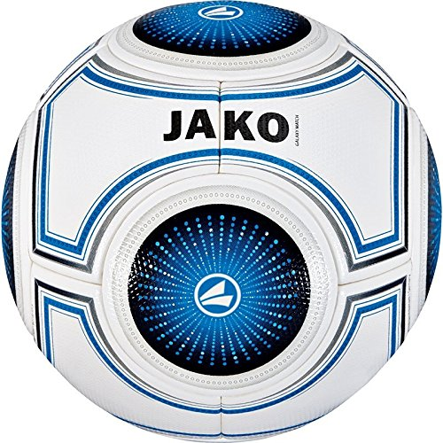 JAKO Ball Galaxy Match weiß blau/Schwarz, 5