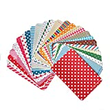 Material: Paper;27 a pack;Perfect for scrapbooking, card making, embellish diary, home decoration, labelling etc.;It's beautiful paper sticker set;Notice: Color and pattern will be randomly sent, may not exactly the same as picture.