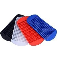 Naisicatar Moule à glaçons en silicone pour 160 mini-glaçons