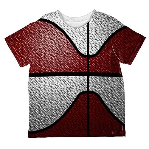 Championship Basketball Maroon & White Ganz Kleinkind T-Shirt Multi 4T (White Championship T-shirt)
