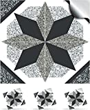 30 GREY DOVE - Self Adhesive Mosaic Wall Tile Decals For 150mm (6 inch) Square Tiles –(NTP 01)- Realistic Looking Stick On Wall Tile Transfers Directly From the Manufacturer: TILE STYLE DECALS, No Middleman -- Peel and Stick on Tile to Transform your Kitchen, Bathroom – Oil-proof, Waterproof Tile Stickers, Heat Resistant Sticks on tile kitchen tiles stickers / Bathrooms Tile Stickers (Pack of 30, GREY DOVE)