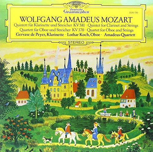Mozart: Clarinet Quintet In K, K.581; Oboe Quartet In F. K.370 [Vinilo]