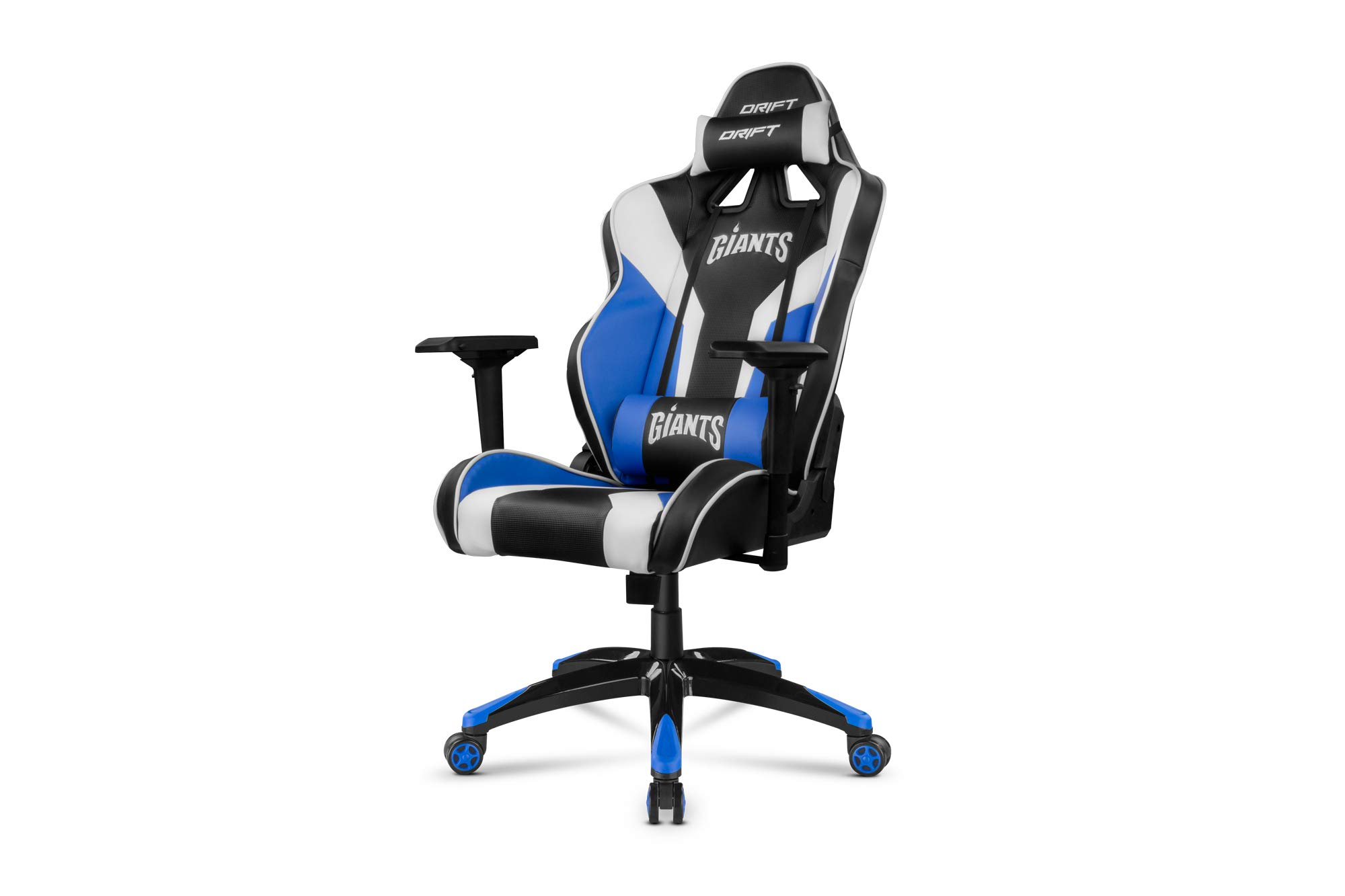 Drift DRGIANTS – Silla gaming, color negro, azul y blanco