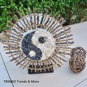 """'Lampe """"Yin Yang Bali Afrique Orient Décoration Lampe Lampadaire Lampe de table"""