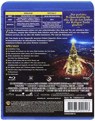 Der Polarexpress [Blu-ray]: Alle Infos bei Amazon