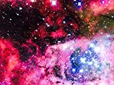 Stickerbomb Univers Galaxy Glanz Autofolie 50x152cm Blasenfrei Luftkanäle car wrapping *GRATIS Montageanleitung 25,99€/1qm